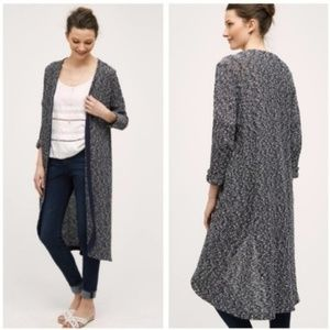 ANTHROPOLOGIE Dolan Oak Street Duster Cardigan